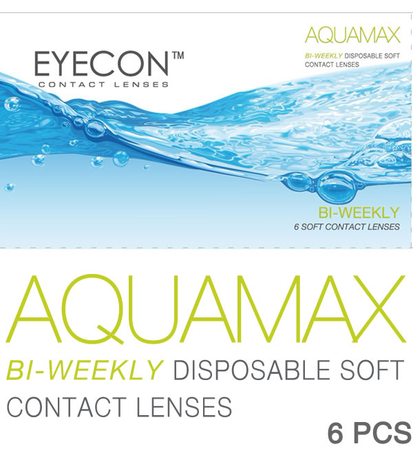 EYECON 58% 1-2 Week Disposables Contact Lens 6 PCS