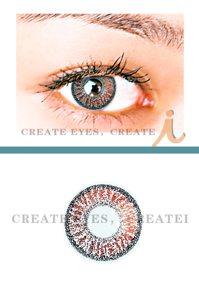 Brown Double Colored Contacts (PAIR)