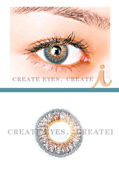 Brown Triple Colored Contacts (PAIR)
