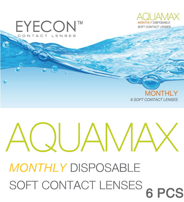 EYECON 38% Monthly Disposables Contact Lens 6 PCS