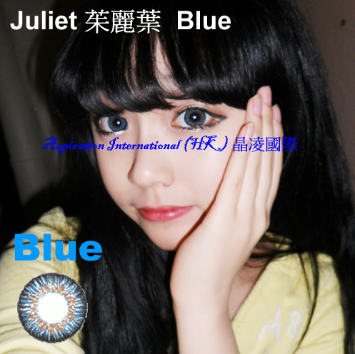 MI Juliet Blue Colored Contacts (Pair)