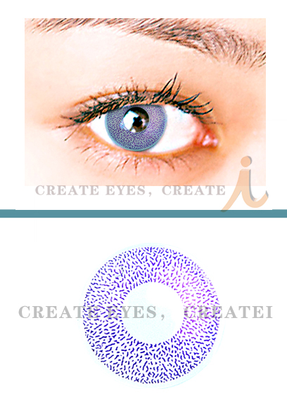Violet Single Colored Contacts (PAIR)